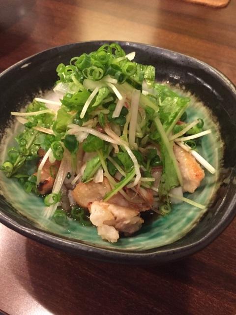 華蔵 - 鶏皮ポン酢