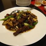 東方楼 - 牛肉の炒め物