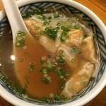 吉風 - スープ(ぎょうざ入り)