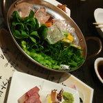 暴飲暴食 東遊 - 有機野菜の氷乗せ!