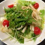 茶屋町応援団 勝男 - 大根と水菜のサラダ