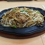 想夫恋 飯塚店 - ごく普通の焼きそばのようですが・・・