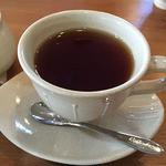 アンカフェ - 紅茶(オレンジピール入)