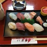 寿司若林 - 握り8貫