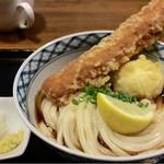JUN大谷製麺処 - ちく玉天ぶっかけ800円