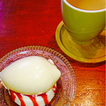 41605982 - ホワイトチョコのチーズケーキ