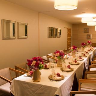 10~20名様の中小規模の会食や接待は個室がおすすめ!