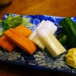 あすなろ - 野菜スティック¥380
