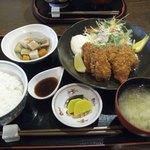41608450 - 牡蠣フライ定食