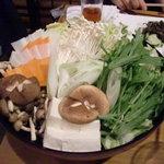 闘魂居酒屋 鉄人 - しゃぶしゃぶの野菜