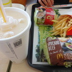 マクドナルド - 料理写真:アボカドバーガーセット