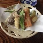 ふじもり - 野菜の天ぷら