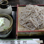 吉村そば処 - 料理写真:H27年9月、ざるそば(500円)