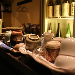 約40の日本酒からお好きなものを飲み比べ!【900円】