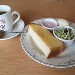 桜宮珈琲 - ブレンドコーヒー400円とAセット
