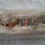 41614937 - ツナ、ゴボウ、ニンジンのサンドイッチ     税込300円