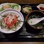 41615062 - 山形牛ユッケ丼(ランチ) 1,382円