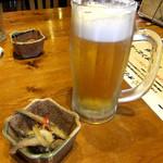 美ら花 別邸 - オリオンビールで乾杯♪(〃゜▽゜)ノ□☆□ヽ(゜▽゜*)♪だよね!