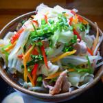 そば処 やじろべぇ - 料理写真:野菜そば(大)