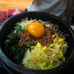 福寿苑荒川沖本店 - 料理写真:石焼きビビンバ \1,000