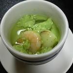 宝来寿司 - 冷茶碗蒸し(H27.8.15撮影)