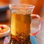 金魚坂 - 鳳凰単なんとかという中国茶 差し湯もいただけます