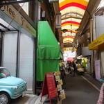 塩瀬 - 城東中央商店街:人気カフェ店チンクエチェント店も近いです