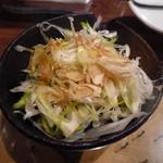 大漁一八 - じゃこねぎ豆腐 430円