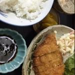 加登屋食堂 - カツ定食900円
