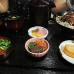 きむらや - まぶし丼1350円 茶漬け用出汁セットと卵焼きまで・・・