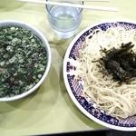 ラーメン 小紫 - 醤油つけ麺 大(夏季限定):930円
