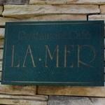 ラ・メール - お店のプレート