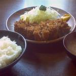 41619172 - ロースカツ定食 税込1900円