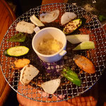 ナチュラル・スピリット - バーニャカウダ(焼野菜)