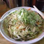 天心 - 野菜ラーメン[大]         ¥800(税込)