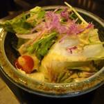 二葉亭 - 野菜サラダ