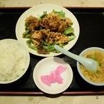 Koushienhanten - 油淋鶏定食540円