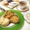 Papa d' nuku - 料理写真:ૢ(๑'ω'๑)リンゴタルト@240ちょい高いがでらうま⭐️5.0、アップルパイ、クリームパンはまぁまぁ