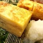 蓮池 丸万寿司 - 15.9 厚焼き玉子