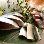 蓮池 丸万寿司 - 15.9 イワシ・しめ鯖・さんま