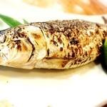 蓮池 丸万寿司 - 15.9 イワシの塩焼き