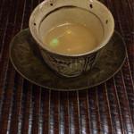 41625337 - 銀杏と百合根 合わせ味噌