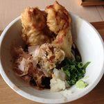 加賀旬菜くらぶ - 鶏天おろしぶっかけ