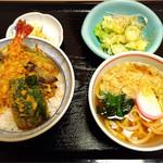 くいどころ里味 - 天丼うどんセット
