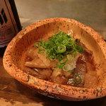 お好み焼き 旨処 ひろみ - すじ煮込みポン酢(480円)