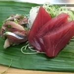 41629191 - 秋刀魚、めじ鮪