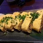 あじめん浦和店 - 納豆卵焼き