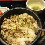 多来 - プルコギ石焼(混ぜた後)