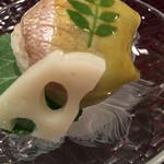 ふじ原 - 小鯛の手毬寿司