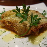 イタリア食堂GiGi - 魚のパン粉焼き!